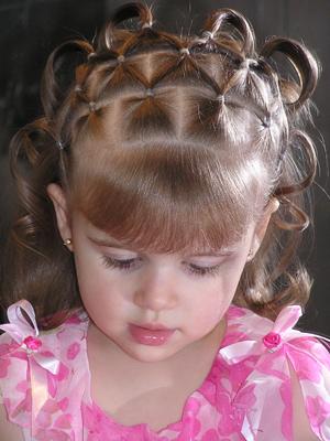 تسريحات شعر للإطفال أنيقة جميلة