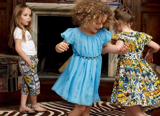 للاطفال لا يفوتك جديد Dolci and Gabana 2013Dolce Gabbana تطرح