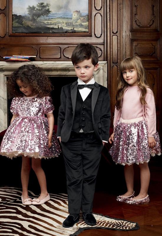 موديلات وازياء للاطفال من Dolce and Gabbana