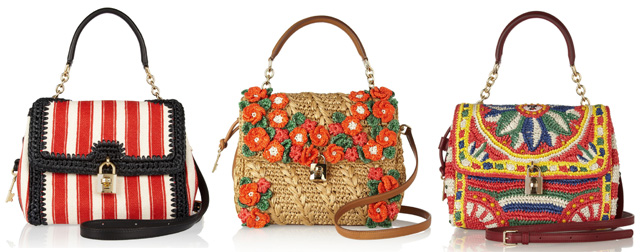 1659f90d4 حصرى على رجيم احدث موديلات شنط ماركة 2013 Dolce & Gabbana شنط رائعة 2013
