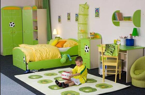 بالاصفر والاخضر التفاحى احلى ديكورات غرف الاطفال   مجتمع رجيم