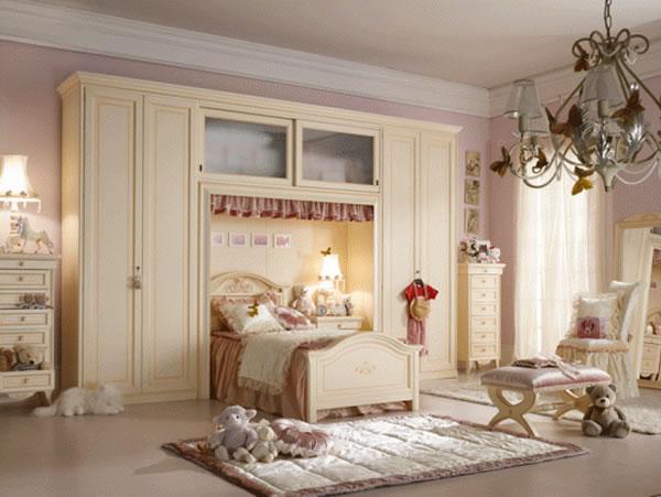 صور غرف نوم رائعة للبنات فخمه وانيقة 2014 271914