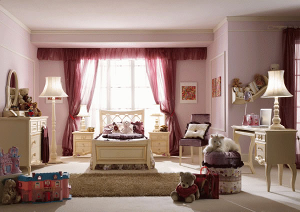 صور غرف نوم رائعة للبنات فخمه وانيقة 2014 271916