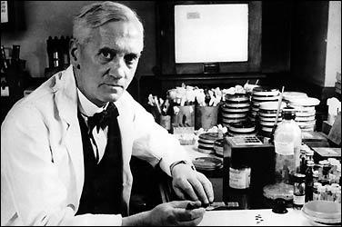 البنسلين penicillin هو اول مضاد حيوي تم