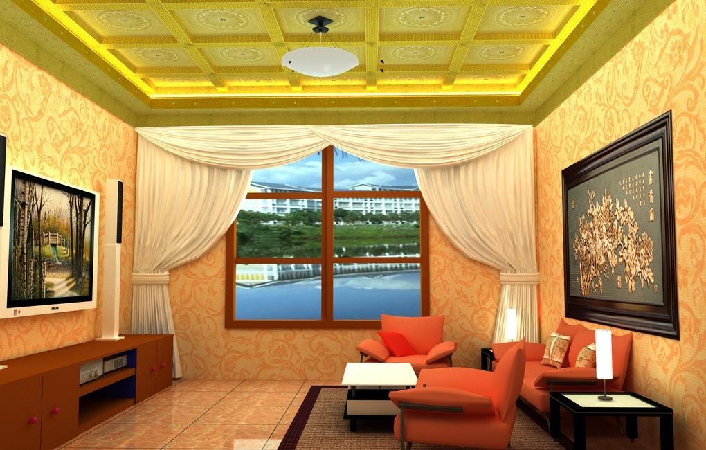 غرف معيشة باءلوان جريئة مبهجة رائعة غرف معيشة 3D انيقة 2014 323691.jpg