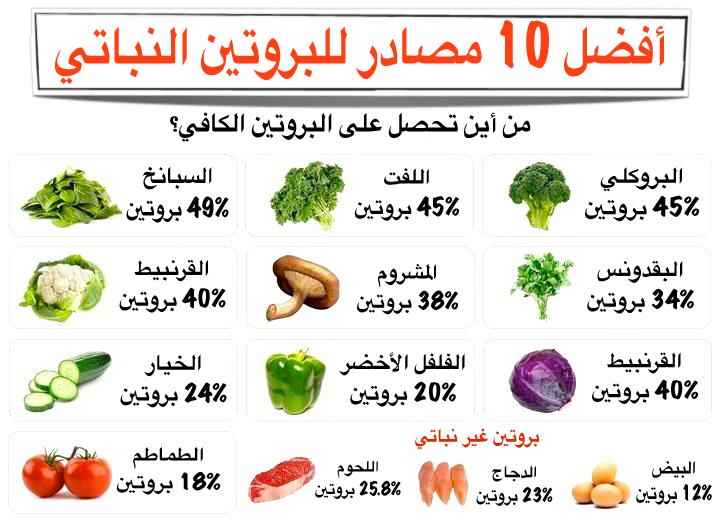 البروتين الاطعمة 335454.jpg