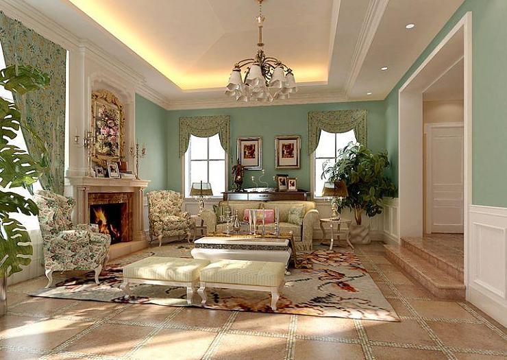 ديكورات الروعة والأناقة المنزل الرائع
