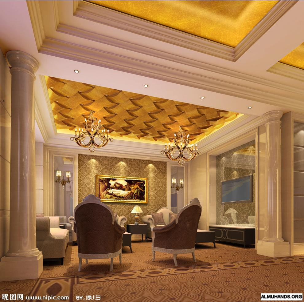 افخم تصاميم ديكورات اسقف قمة في الفخامة 443906.jpg
