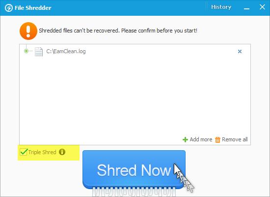خصوصياتك الشخصية إسترجاع File Shredder 461775.png