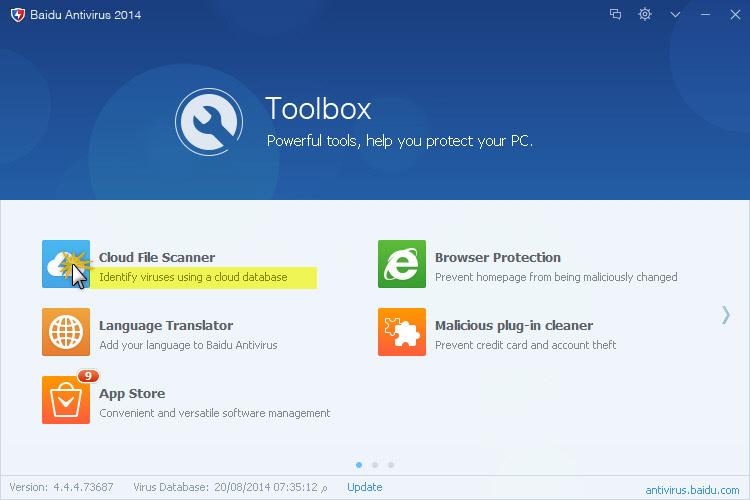 خصوصياتك الانترنت الحماية Baidu Antivirus 462276.jpg
