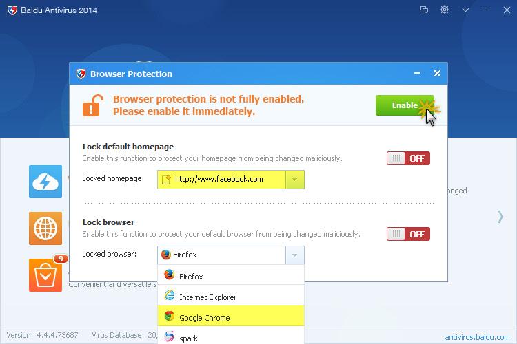 خصوصياتك الانترنت الحماية Baidu Antivirus 462280.jpg