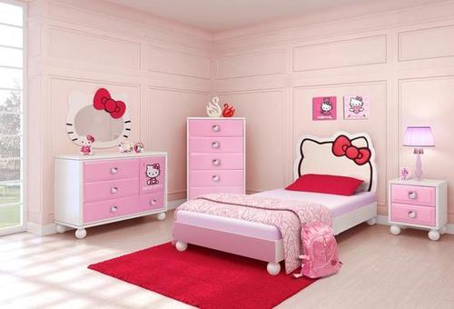 غرف نوم Hello Kitty للاطفال مجتمع رجيم