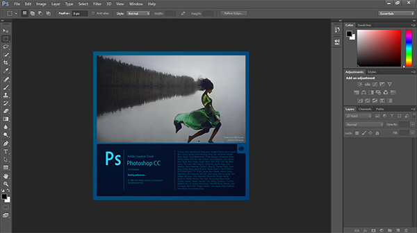 بركة الله .. Adobe Photoshop CC version 15 حجم الرفع